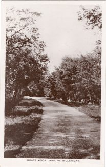 Goats Moor Lane in the past
