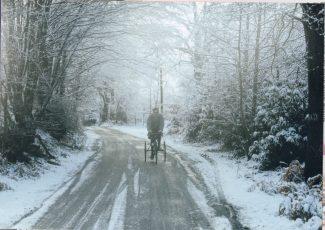 Winter in Goatsmoor Lane | David Twitchett